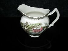 VTG JOHNSON BROS FRIENDLY VILLAGE (OLD MILL) CREAMER EUC