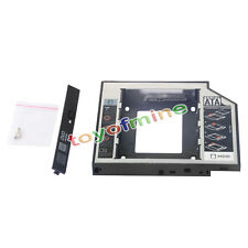 12.7mm Universal SATA 2nd HDD SSD Hard Drive Caddy for CD / DVD-ROM Optical Bay