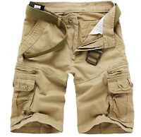 Stylish Men Military Army Combat Trousers Tactical Pocket Camo Cargo Pant Shorts
