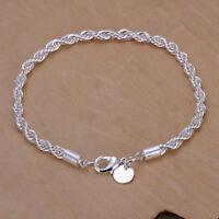 Leonardo Jewels collar cadena favo joyas vidrio hematites negro 43 cm 016635