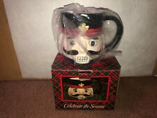Nutcracker Coffee Cup /  Mug In Box Celebrate The Season BRAND NEW