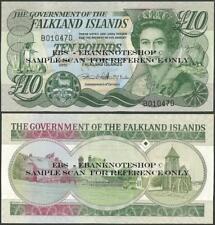 Falkland Islands,P18,2011,10 Pounds,AU Uncirculated,QE II@ Ebanknoteshop