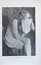 Sklavin des Duftes Druck nach Photographie - Kunstblatt Bild aus 1929