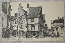"""CPA """" BOURGES - Vieilles Maisons, Rue des Toiles"""