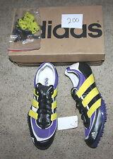 ADIDAS ADISTAR 2000 SP track field spikes MID DISTANCE shoe purple black SZ 12.5