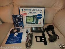 Yakumo eazygo XS Europe sistema de navegación, completo con embalaje original, 2j. garantía