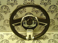 10-11 Chevrolet Camaro SS LT OEM Steering Wheel Assembly Manual Orange Stitch
