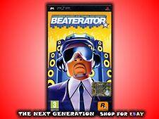 BEATERATOR GIOCO PER SONY PSP NUOVO! VERSIONE ITALIANA!
