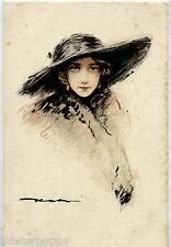 Splendida Donnina con Cappello PC Circa 1920 Germany