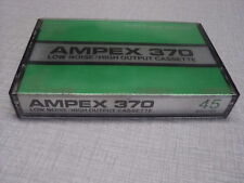 K7 AUDIO AMPEX 370 LOW NOISE/HIGH OUTPUT CASSETTE 45 MINUTES (2)