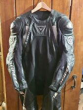 Dainese Sukhoi uk 42 euro 52 TOP OF THE RANGE RACE SUIT TRACK ONE PIECE LEATHERS