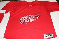 NWT NHL Detroit Red Wing Reebok Stitched Jersey Youth Size Large