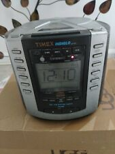 Timex T600B Indiglo Digital Alarm Clock Am/Fm Radio Cd Player night light.