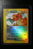 Dragonite 9/165 Expedition REVERSE HOLO RARE Pokemon Card in NM Condition