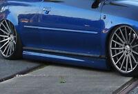 Design Seitenschweller Schweller Sideskirts ABS für Audi TT 8N