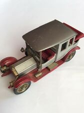 Matchbox - Models of Yesteryear - 1912 Rolls Royce - Red and Silver - No Box