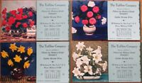Tuffibre Co. 1948 Advertising Blotters SET OF FOUR - New York, NY