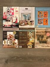 Stampers Sampler 6 Magazine Lot Stampin Up Idea Book Catalog Rubber Holiday