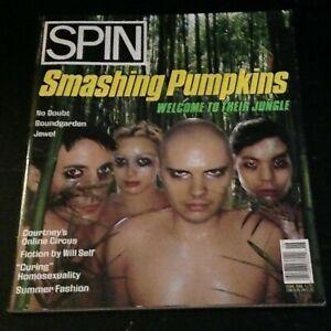 SPIN magazine 1996 Smashing Pumpkins, No Doubt Gwen Stefani Soundgarden, Jewel