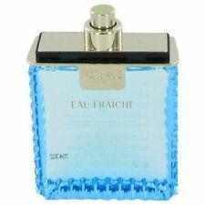 VERSACE Man Eau Fraiche for Men 3.4 oz cologne 3.3 EDT Spray *NEW TESTR PERFUME