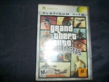 X-Box Game SAN ANDREAS Cleaned; Tested; Working