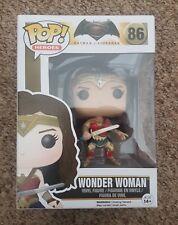 Funko Pop! - Wonder Woman DC Heroes #86 Figure - Batman vs Superman - Free P+P