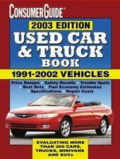 NEW Shrink-Wrapped: Used Car and Truck Book 2003 by Consumer Guide Editors 2003