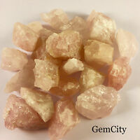 1lb Pink Rose Quartz Raw Rough Rough Natural Crystal Mineral Specimen