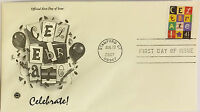 10 USPS PCS Celebrate! 2007 41c Stamp FDC Cover 4196 First Day Issue NEW
