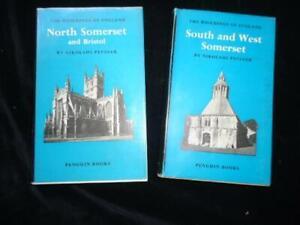 North Somerset & Bristol + South & West Somerset Buildings of England Pevsner