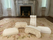 Vintage Miniature Dollhouse Collection Resin Poly Architectural Pieces Corbels