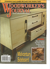 WOOD WORKER'S JOURNAL OUTDOOR WOODWORKING PROJECTS. OCTOBER 2017