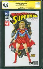 Superman 1 CGC SS 9.8 Castrillo original art Supergirl sketch Krypton TV Show