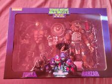 NECA Teenage Mutant Ninja Turtles Tokka & Rahzar 2 Pack Secret Of The Ooze New
