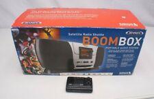 JENSEN JSIR900R SIRIUS XM Satellite Radio BOOMBOX & Receiver ~ New Other