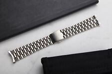 22mm President Bracelet Watch With Curved End Links Vintage Style
