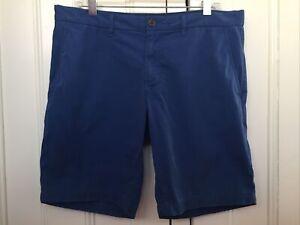 Tommy Hilfiger Men's 'Brooklyn' Chino Shorts Size 36 Deep Royal Blue