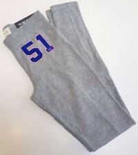 ABERCROMBIE & FITCH GREY LOGO HIGH RISE LEGGING SKINNY SWEATPANTS XS!