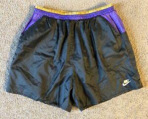 VTG 90s Nike Cross Training Men's Lined Running Shorts - Size Medium