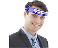 2pcs/5pcs/10pcs SAFETY FULL FACE SHIELD CLEAR FLIP-UP VISOR TRANSPARENT