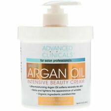 Advanced Clinicals, Argan Oil, Intensive Beauty Cream, 16 oz (454 g)