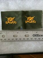 Authentic US Army Inspector General Branch Officer BDU OD Green Insignia Patch