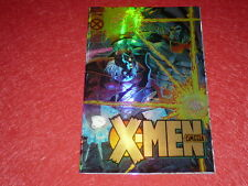 [BD COMICS MARVEL USA] X-MEN OMEGA #1 (unic) Juin 1995 GOLD EDITION HOLOCHROMIUM