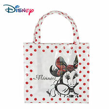 Women Girl Disney Minnie Mouse School Work Lunch Box Tote Organizer carry Bag