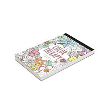 Color Therapy Coloring Books DIY Postcards Stationery Cards Set with 32 Designs