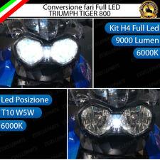 CONVERSIONE LED TRIUMPH TIGER EXPLORER KIT LED H4 + LED POSIZIONE T10 6000K