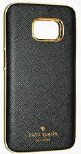 Kate Spade New York Wrap Case for Samsung Galaxy S7 - Black Saffiano Leather