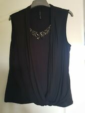 Karen Millen Jewelled Top Size 14/16 New Bnwot