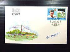 St vincent 1984 cricket fdc signée par bob Woolmer voir ci-dessous FP8508