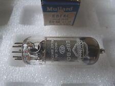 Ebf80 MULLARD culla PACK NUOVO VECCHIO STOCK tube valvole 1 PC j17a